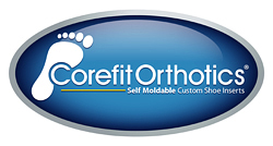 Corefit Orthotics. Self Moldable Custom Shoe Inserts